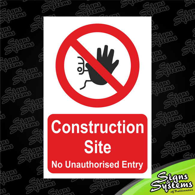 Construction Signs/Construction Site