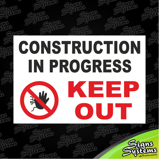 Construction Signs/Construction in Progress