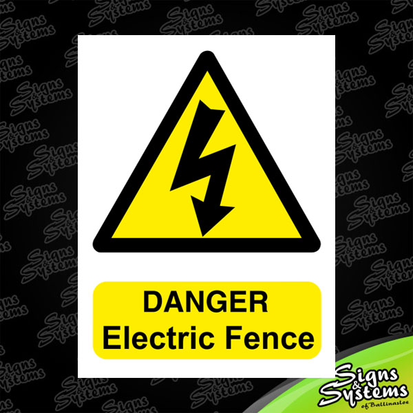 Danger: Electric Fence